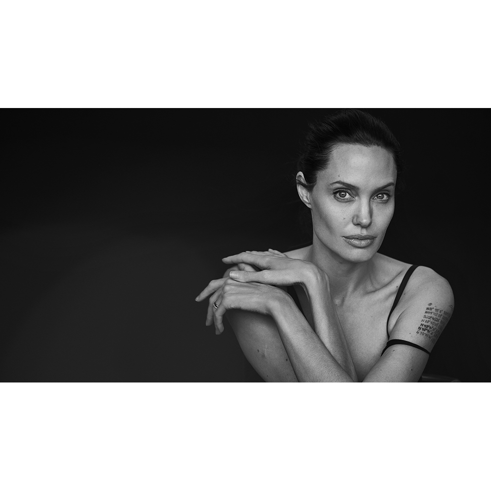 Peter Lindbergh photography Angelina Jolie