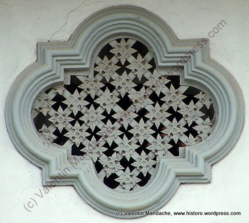-Romanian decoration 1920s house, Targoviste, southern Romania