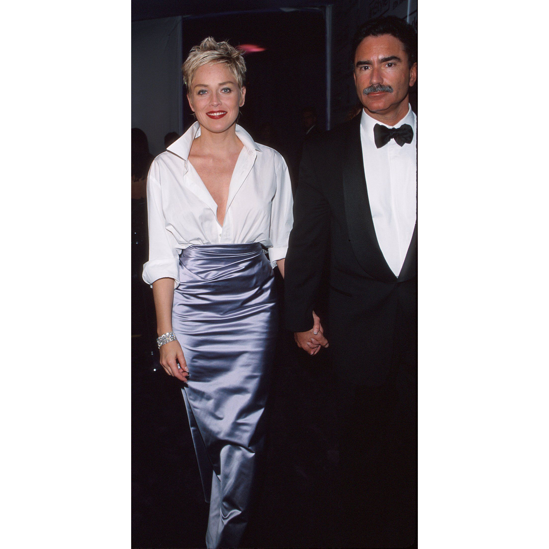 Sharon-Stone-Phil-Bronstein-1998-oscars