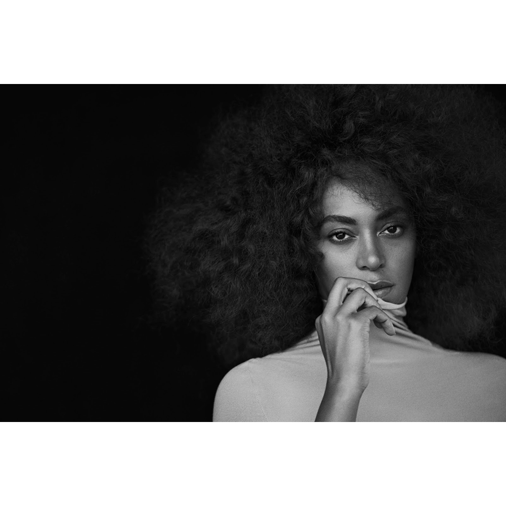 Peter Lindbergh photography Solange Knowles